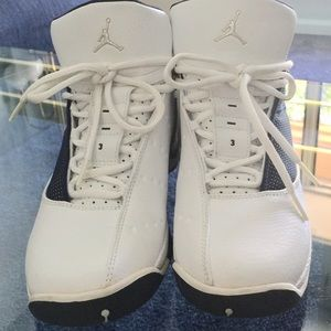 Air Jordan 12.5 Team-White/Dark Blue Sneaker